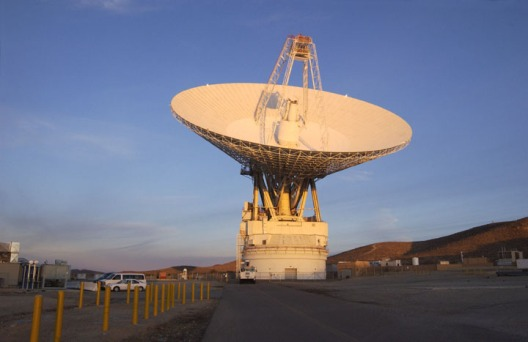 One of the Goldstone Deep Space Network Antennas. Photo courtesy NASA/JPL-Caltech